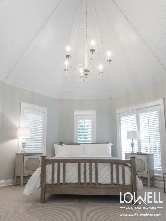 Master Bedroom suite remodel by lake geneva builder lowell custom homes